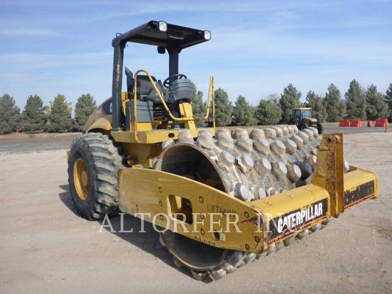 CATERPILLAR COMPACTEUR VIBRANT, MONOCYLINDRE LISSE CP563E equipment  photo 2