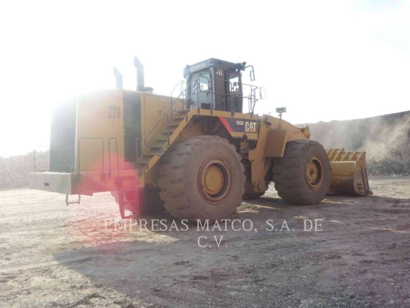 Caterpillar ÎNCĂRCĂTOR MINIER PE ROŢI 993K equipment  photo 5