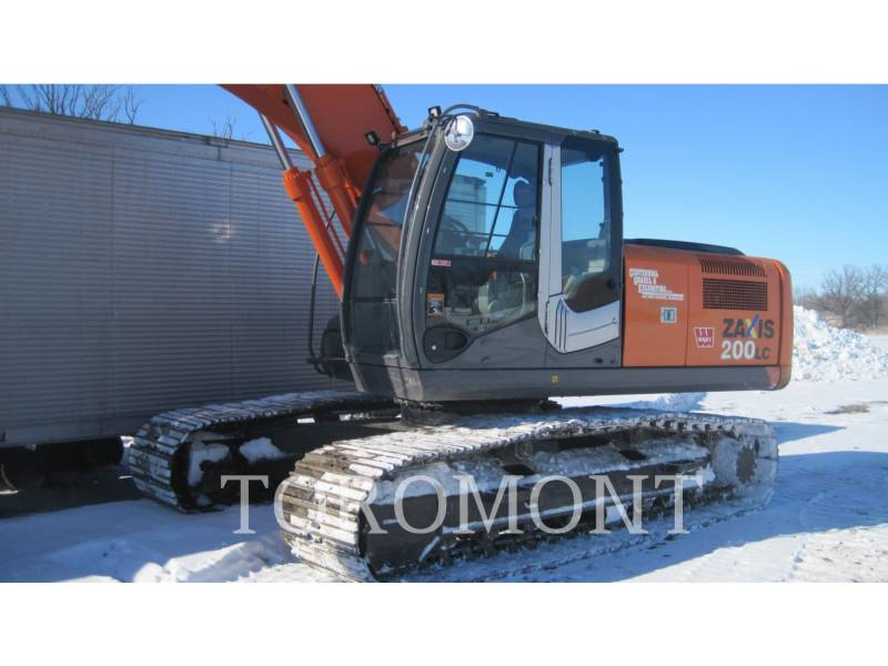 HITACHI EXCAVADORAS DE CADENAS ZX200LC-3 equipment  photo 1