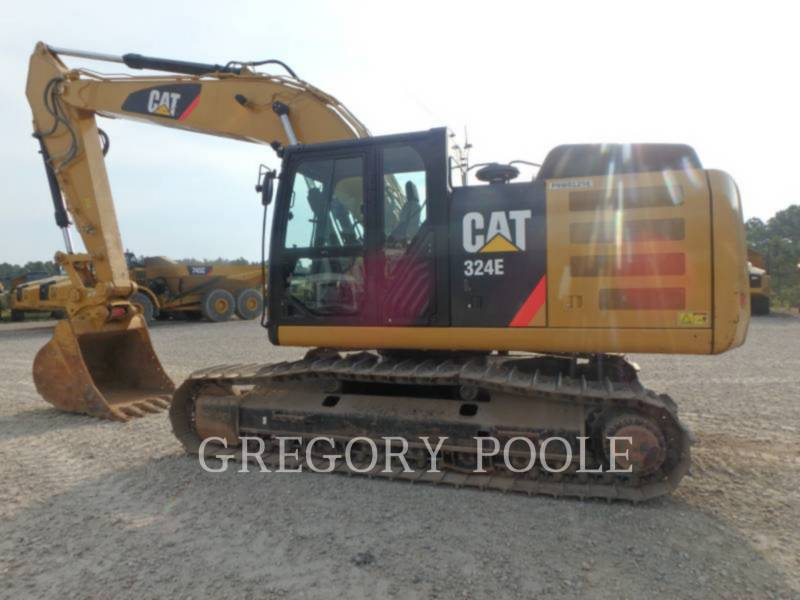 CATERPILLAR KETTEN-HYDRAULIKBAGGER 324E L equipment  photo 5