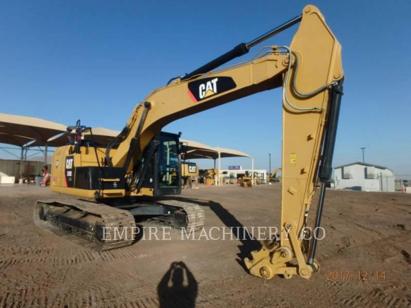 CATERPILLAR KETTEN-HYDRAULIKBAGGER 320E LRR equipment  photo 1