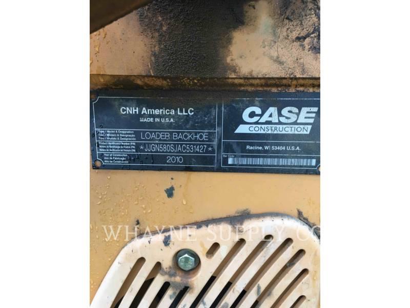 CASE RETROEXCAVADORAS CARGADORAS 580 SUPER M equipment  photo 3