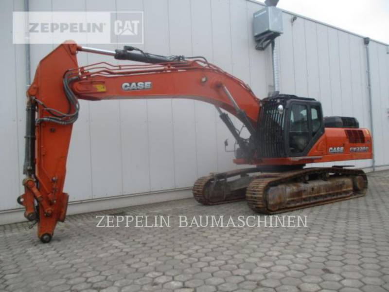 CASE TRACK EXCAVATORS CX370C equipment  photo 1