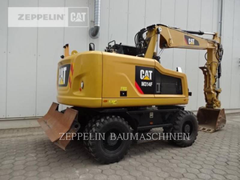 CATERPILLAR PELLES SUR PNEUS M314F equipment  photo 4