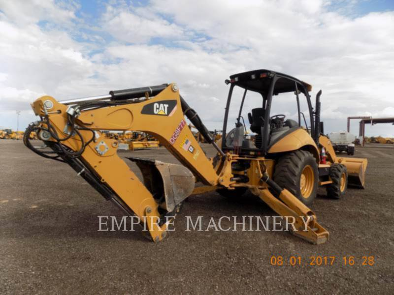 CATERPILLAR BAGGERLADER 420FST equipment  photo 2