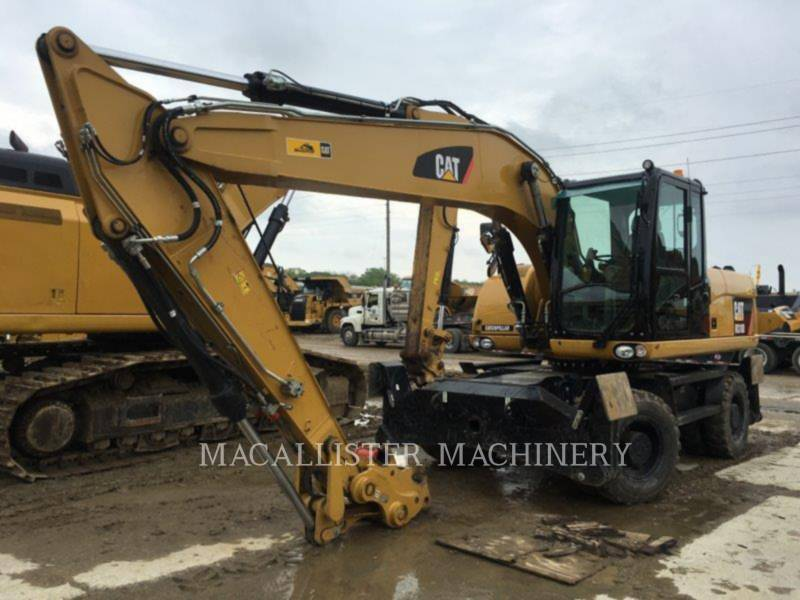 CATERPILLAR ESCAVADEIRAS DE RODAS M318D equipment  photo 1