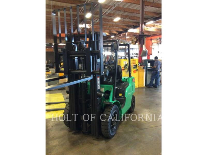 MITSUBISHI FORKLIFTS EMPILHADEIRAS FD30N equipment  photo 2