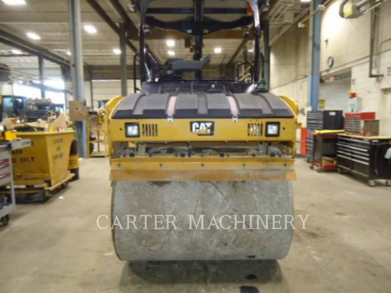 CATERPILLAR TANDEMVIBRATIONSWALZE, ASPHALT CB44B equipment  photo 4