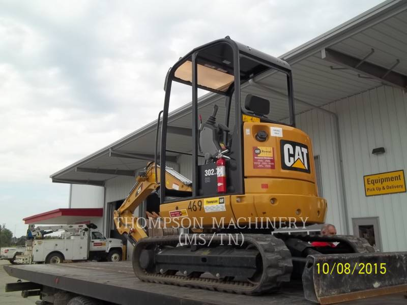 CATERPILLAR KETTEN-HYDRAULIKBAGGER 302.7D equipment  photo 3