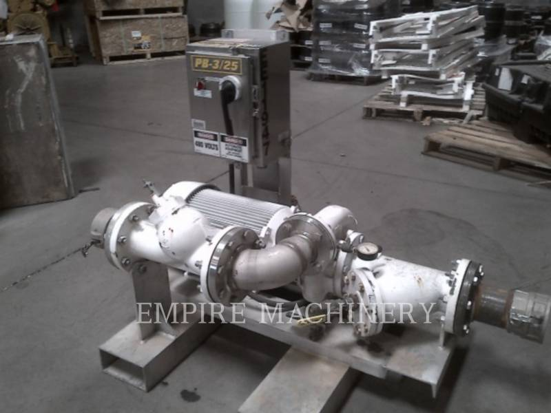 MISC - ENG DIVISION HVAC: ヒータ、換気、およびエアコン (OBS) PUMP 25HP equipment  photo 1