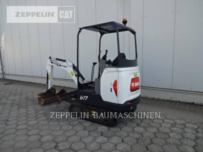 BOBCAT KETTEN-HYDRAULIKBAGGER E17 equipment  photo 3