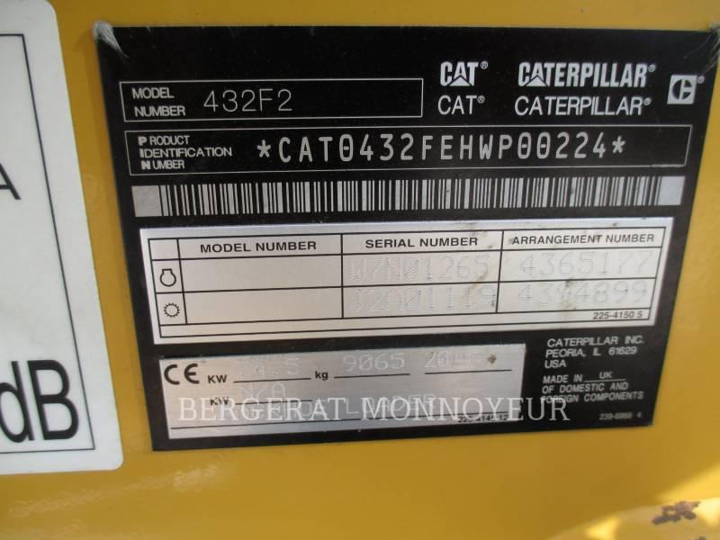 CATERPILLAR RETROEXCAVADORAS CARGADORAS 432F2 equipment  photo 2