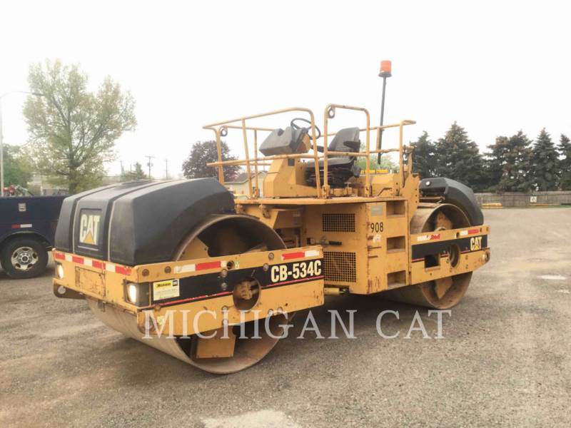 CATERPILLAR TAMBOR DOBLE VIBRATORIO ASFALTO CB-534C equipment  photo 6