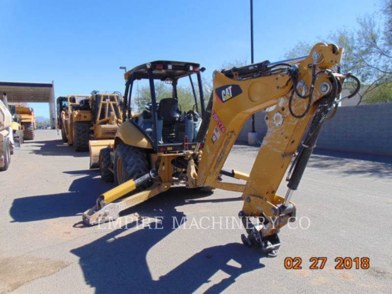 CATERPILLAR BACKHOE LOADERS 420F 4EOM equipment  photo 3