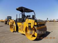Equipment photo CATERPILLAR CB66B ROLO COMPACTADOR DE ASFALTO DUPLO TANDEM 1