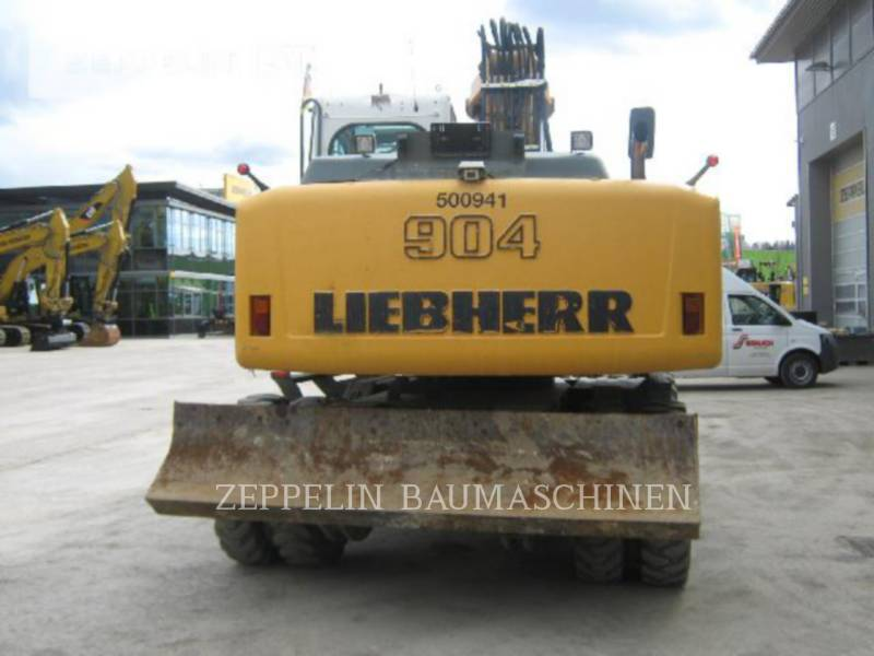 LIEBHERR WHEEL EXCAVATORS A904CLIT equipment  photo 8