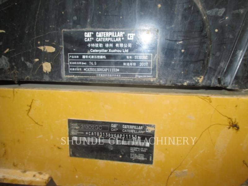 CATERPILLAR EXCAVADORAS DE CADENAS 313 D2 GC equipment  photo 2