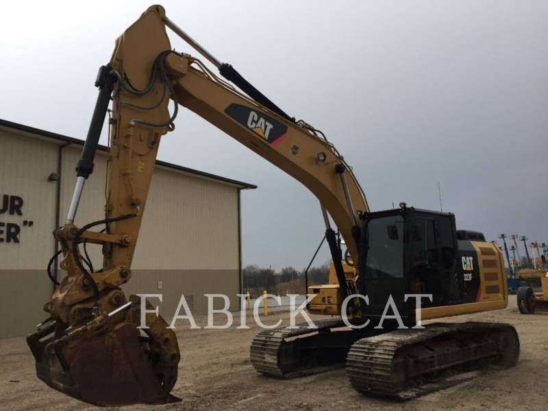 CATERPILLAR TRACK EXCAVATORS 323F HT equipment  photo 4