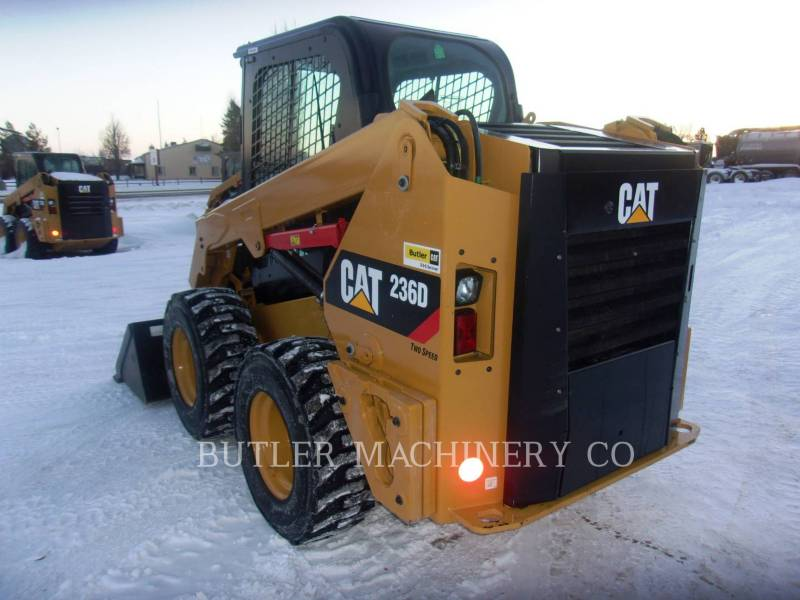 CATERPILLAR SKID STEER LOADERS 236 D equipment  photo 3