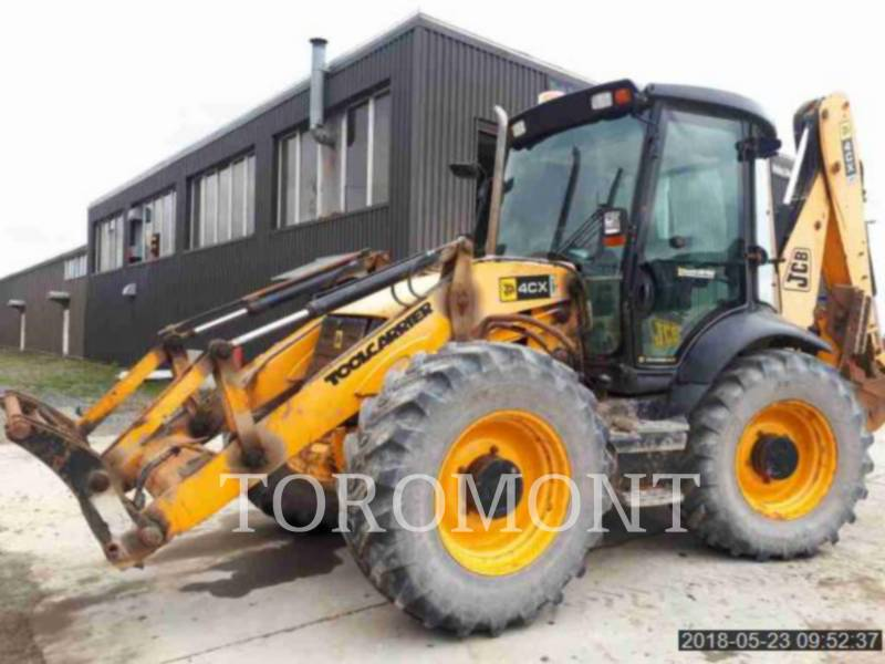 JCB BAGGERLADER 4CX14EC equipment  photo 1