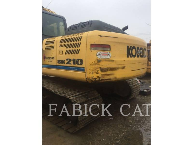 KOBELCO / KOBE STEEL LTD EXCAVADORAS DE CADENAS SK210 equipment  photo 3