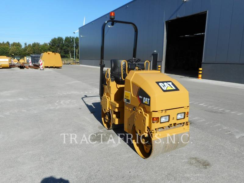 CATERPILLAR TAMBOR DOBLE VIBRATORIO ASFALTO CB14 equipment  photo 7