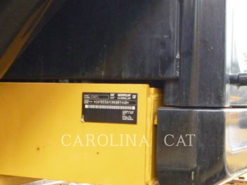 CATERPILLAR TRACK EXCAVATORS 336FL QC equipment  photo 9