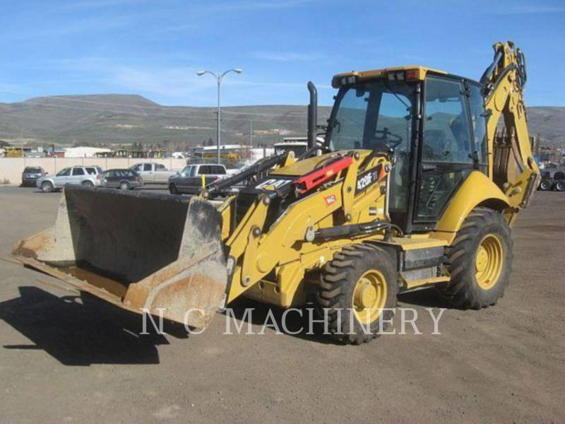 CATERPILLAR BACKHOE LOADERS 420F 4ETCB equipment  photo 1