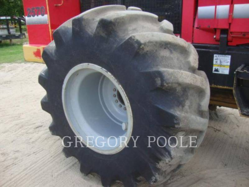 PRENTICE FORESTRY - FELLER BUNCHERS - WHEEL 2570 equipment  photo 22