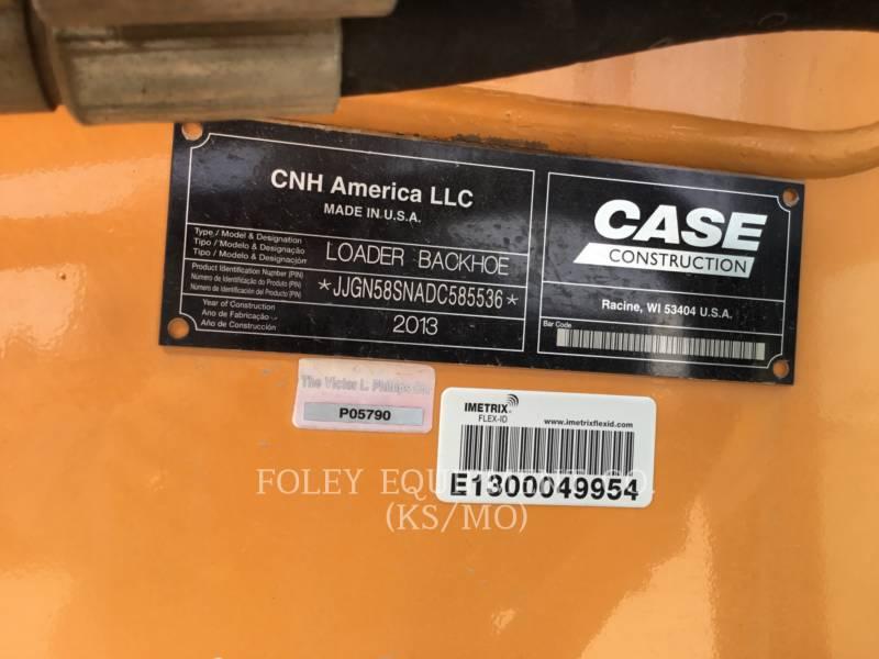 CASE BAGGERLADER 580SN equipment  photo 6