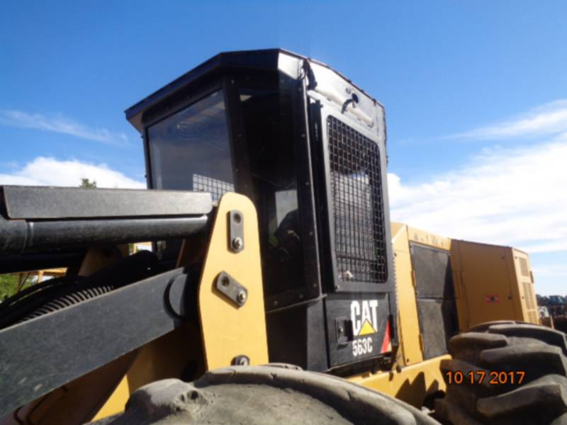 CATERPILLAR FORESTRY - FELLER BUNCHERS - WHEEL 563C equipment  photo 16