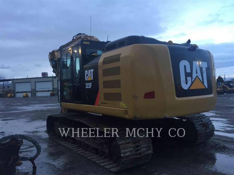 CATERPILLAR ESCAVADEIRAS 323F L THM equipment  photo 4