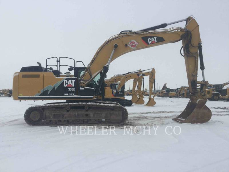 CATERPILLAR TRACK EXCAVATORS 336E L CFM equipment  photo 5