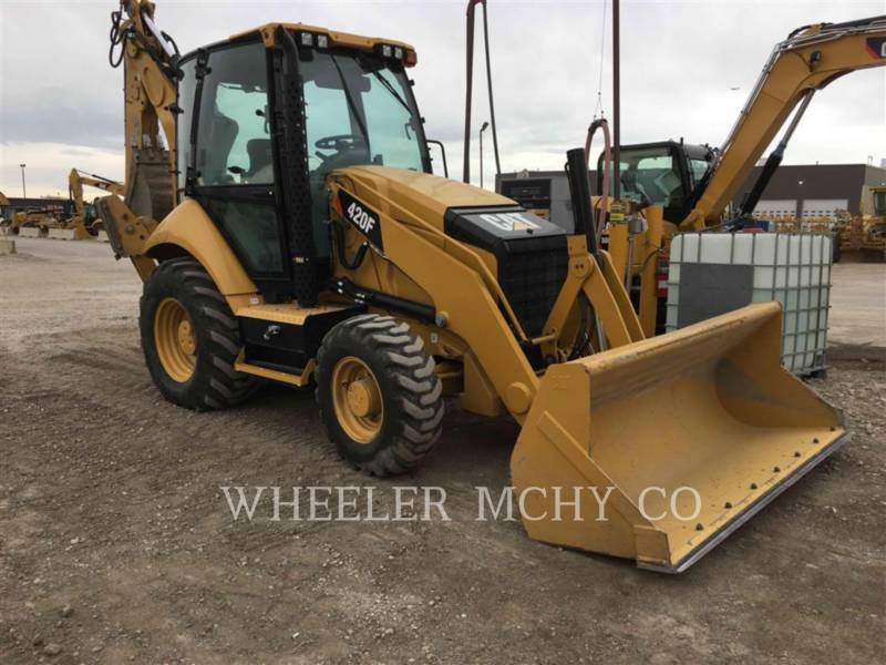 CATERPILLAR CHARGEUSES-PELLETEUSES 420F E equipment  photo 2