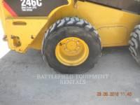 CATERPILLAR PALE COMPATTE SKID STEER 246C equipment  photo 9