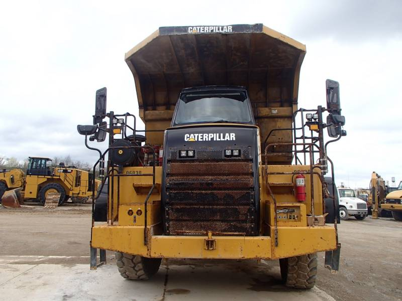 CATERPILLAR TOMBEREAUX DE CHANTIER 772 equipment  photo 5