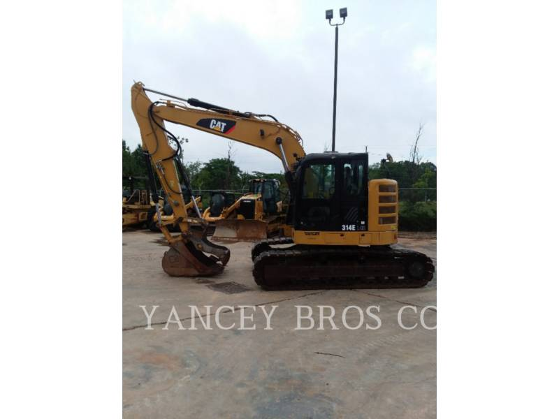 CATERPILLAR TRACK EXCAVATORS 314 W-THMB equipment  photo 2