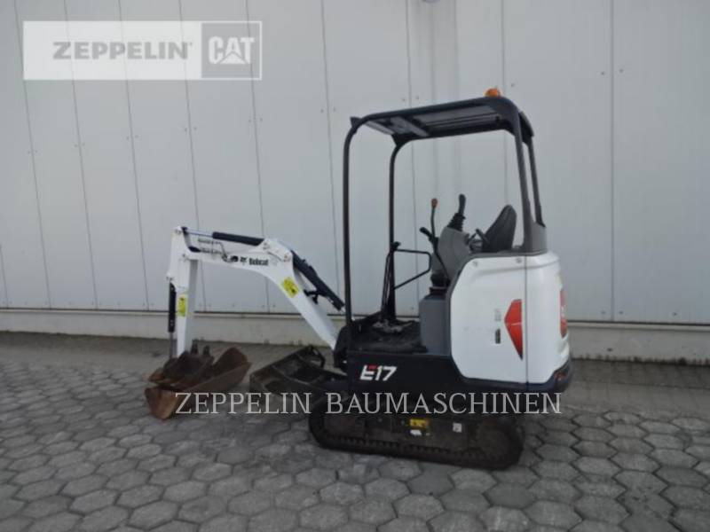 BOBCAT KETTEN-HYDRAULIKBAGGER E17 equipment  photo 4