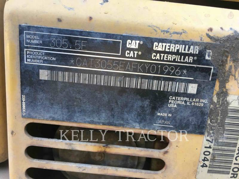 CATERPILLAR PELLES SUR CHAINES 305.5ECR equipment  photo 13