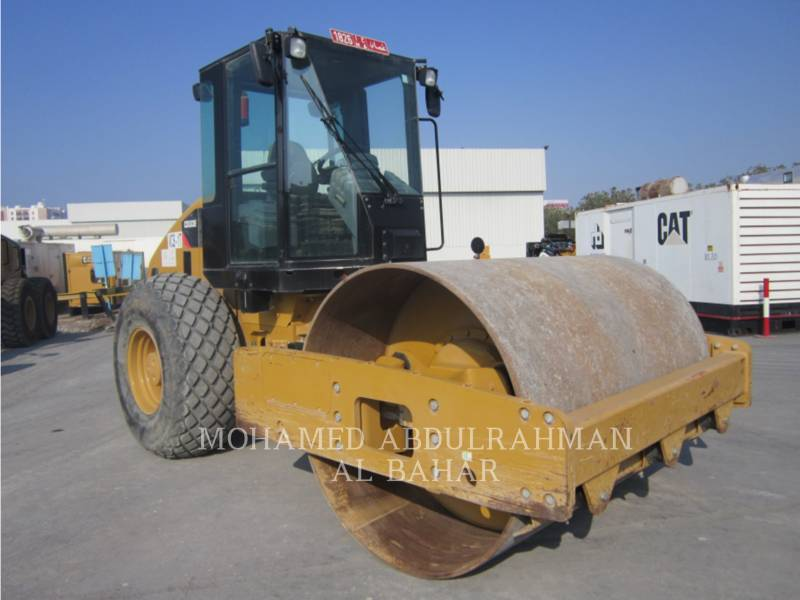 CATERPILLAR COMPACTEUR VIBRANT, MONOCYLINDRE LISSE CS 533 E equipment  photo 7