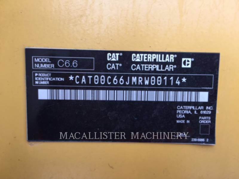 CATERPILLAR PORTABLE GENERATOR SETS XQ 175 equipment  photo 11