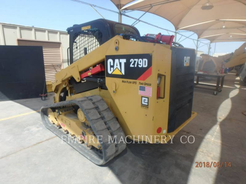 CATERPILLAR MULTITERREINLADERS 279D equipment  photo 3