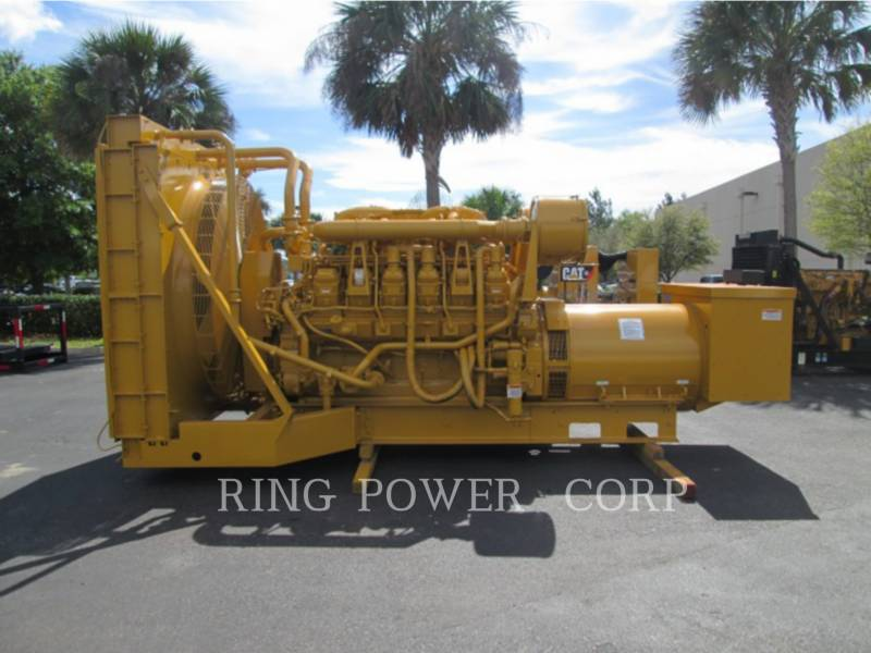 CATERPILLAR STATIONARY GENERATOR SETS 1500 KW equipment  photo 3