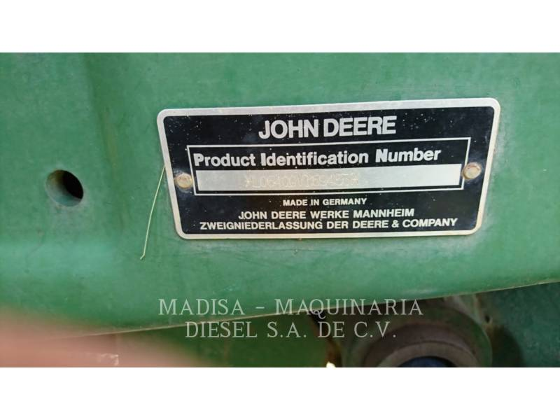 JOHN DEERE TRATORES AGRÍCOLAS 6400 equipment  photo 4