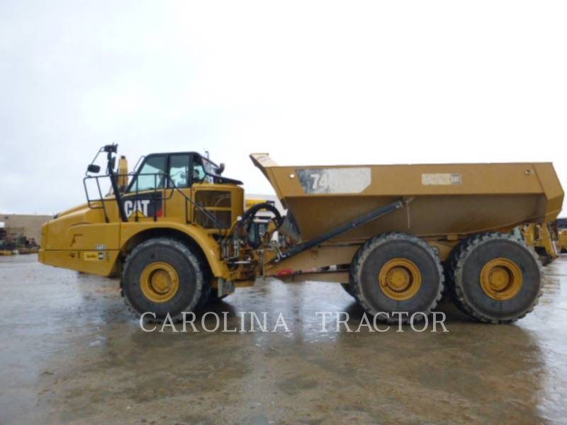 CATERPILLAR CAMINHÕES ARTICULADOS 745C equipment  photo 1