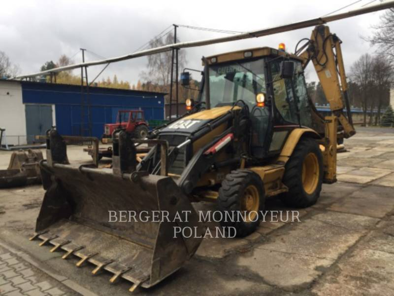 CATERPILLAR BAGGERLADER 432D equipment  photo 1
