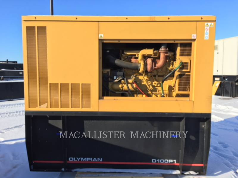 OLYMPIAN STATIONARY GENERATOR SETS D100-P1 equipment  photo 1