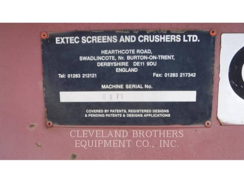EXTEC スクリーン 5000 TURBO equipment  photo 17
