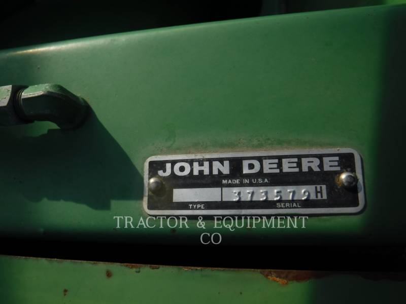 DEERE & CO.  COMBINE HEADER 230 equipment  photo 2