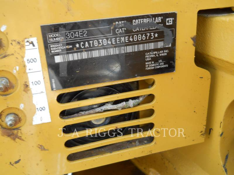 CATERPILLAR TRACK EXCAVATORS 304E equipment  photo 9